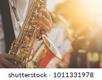 Jazz Musician Playing The...