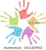 multiple sclerosis word cloud... | Shutterstock .eps vector #1011335932