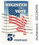 united states   circa 1964  a...   Shutterstock . vector #101134396