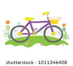 vector cartoon illustration of... | Shutterstock .eps vector #1011346408