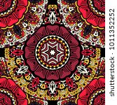 vector seamless pattern ethnic... | Shutterstock .eps vector #1011352252