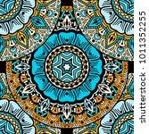 vector seamless pattern ethnic... | Shutterstock .eps vector #1011352255