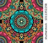 vector seamless pattern ethnic... | Shutterstock .eps vector #1011352258