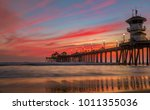 incredible colors of sunset by... | Shutterstock . vector #1011355036