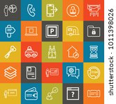 business outline vector icon... | Shutterstock .eps vector #1011398026