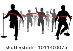 vector cutout illustration of... | Shutterstock .eps vector #1011400075