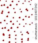 love heart shape background... | Shutterstock .eps vector #1011407242