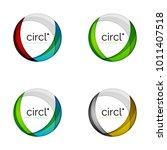 circle logo collection.... | Shutterstock .eps vector #1011407518