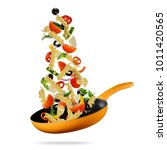 Concept Flying Food Preparation Traditional - Fine Art prints