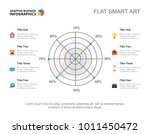 eight options radar chart slide ...   Shutterstock .eps vector #1011450472