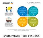 four business elements slide... | Shutterstock .eps vector #1011450556