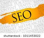 seo  search engine optimization ...   Shutterstock .eps vector #1011453022