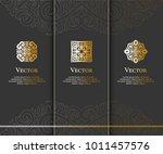 vector emblem. elegant  classic ... | Shutterstock .eps vector #1011457576