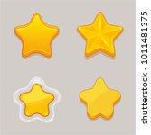 cartoon vector star icons set...