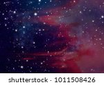 being shone nebula. 3d rendering | Shutterstock . vector #1011508426