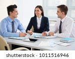 business people working... | Shutterstock . vector #1011516946