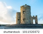 o'brien's tower on the cliffs... | Shutterstock . vector #1011520372