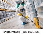 exterminator in industrial... | Shutterstock . vector #1011528238