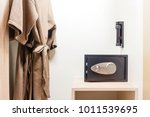 safe box with electronic lock... | Shutterstock . vector #1011539695