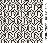 vector seamless stripes pattern.... | Shutterstock .eps vector #1011543016