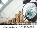 double exposure steps of coins... | Shutterstock . vector #1011556828