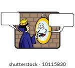 vector of fairy tale queen... | Shutterstock .eps vector #10115830