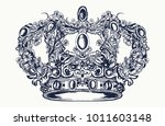 royal imperial crown from art... | Shutterstock .eps vector #1011603148