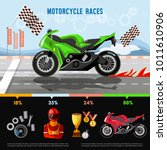 moto sport vector concept | Shutterstock .eps vector #1011610906