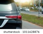 cars stop on the road by... | Shutterstock . vector #1011628876