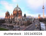 Stock photo  full of tourists enjoy visiting berlin cathedral berliner dom at daytime berlin germany 1011630226