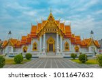 temple in thailand  marble... | Shutterstock . vector #1011647632