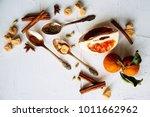 celebrate new year winter... | Shutterstock . vector #1011662962