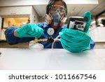 instrument technician is take... | Shutterstock . vector #1011667546