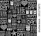 happy father day. seamless... | Shutterstock .eps vector #101171872