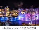 pigeon forge  tennessee  ... | Shutterstock . vector #1011743758