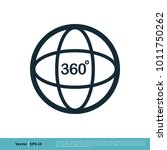 camera 360 degree icon vector... | Shutterstock .eps vector #1011750262