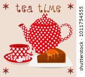 vector illustration for ceramic ... | Shutterstock .eps vector #1011754555
