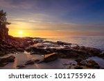 Sunset In Cala Violina Bay...