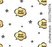 baby sleep illustration with... | Shutterstock .eps vector #1011756076