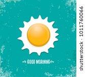 fried egg vector illustration.... | Shutterstock .eps vector #1011760066