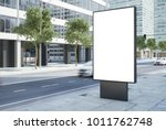 3d rendering of billboard... | Shutterstock . vector #1011762748