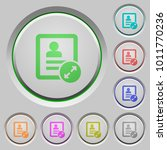 extend contact color icons on... | Shutterstock .eps vector #1011770236
