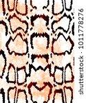 snake skin texture.  texture...   Shutterstock .eps vector #1011778276