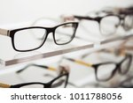 eyeglasses in a store | Shutterstock . vector #1011788056