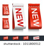 set of clothes labels. vector... | Shutterstock .eps vector #1011800512