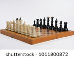 chess on a chess board | Shutterstock . vector #1011800872