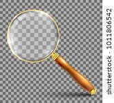 magnifying glass   vector... | Shutterstock .eps vector #1011806542