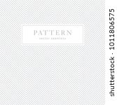 simple chevron seamless pattern.... | Shutterstock .eps vector #1011806575