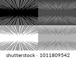 set of four background   lines... | Shutterstock .eps vector #1011809542