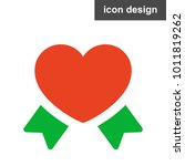 heart love icon   Shutterstock .eps vector #1011819262